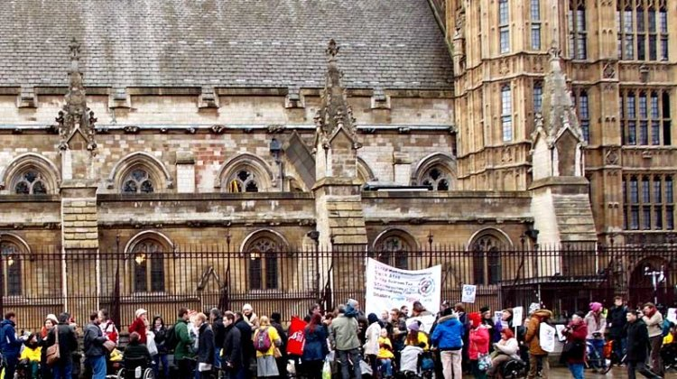 Protesters' picture perfect response to Falconer's bill
