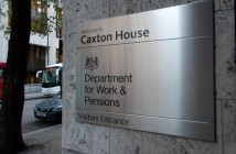 Entrance to DWP's Caxton House HQ