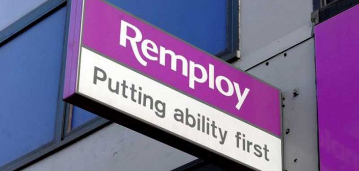 A Remploy sign