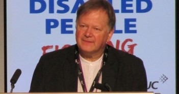 Stephen Brookes speaking at a conference