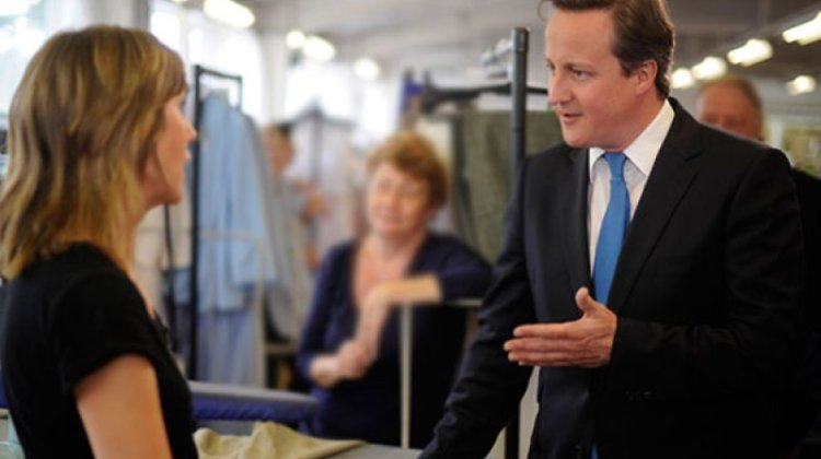 Cameron challenged twice in a minute over disability rights