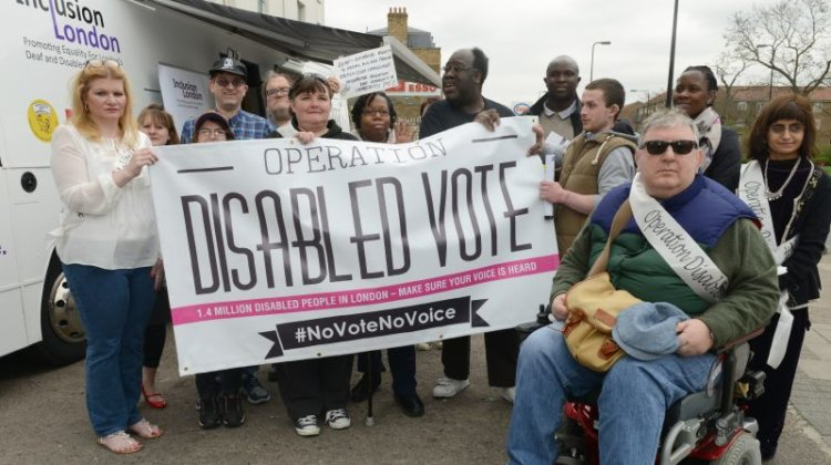 ELECTION 2015: Bus tour highlights disabled people's voting power