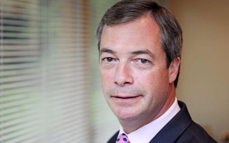 Nigel Farage head and shoulders
