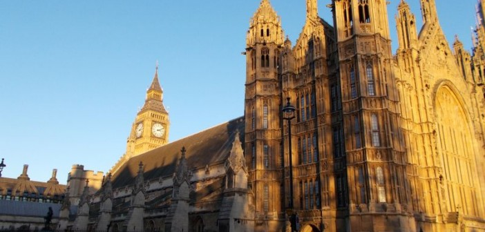Outside view of the Houses of Parliament