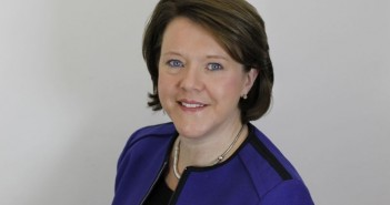 Head and shoulders of Maria Miller
