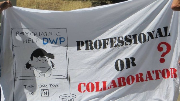 Trust and charity deny DWP mental health links, after protesters march on jobcentre