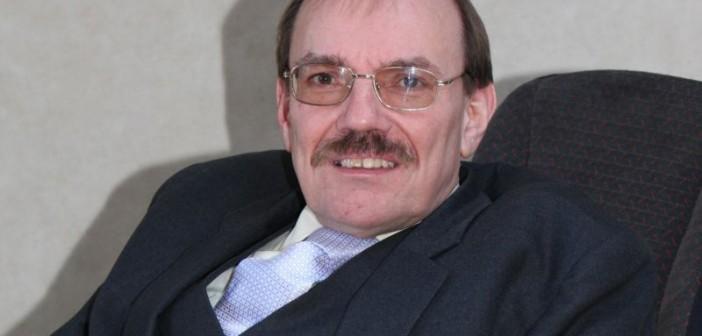 Head and shoulders of Sir Bert Massie
