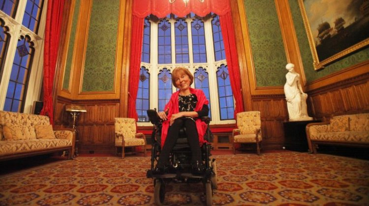 Disabled peer chosen for prestigious Today guest editor slot