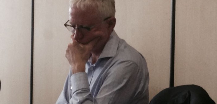 Norman Lamb looking thoughtful