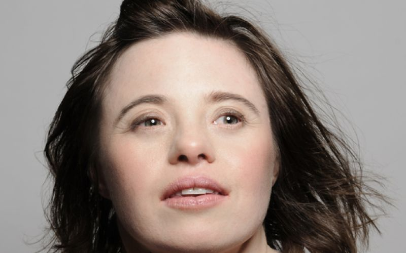 Head and shoulders of Sarah Gordy