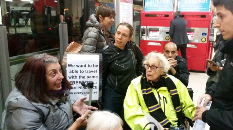 Rise in disabled train passenger numbers sparks call for 'turn up and go' system