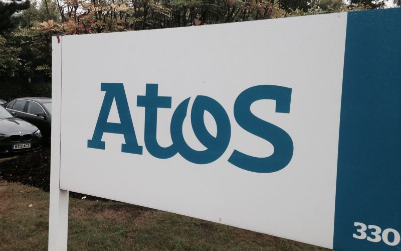 An Atos sign
