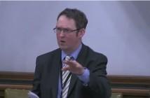 Paul Maynard speaking in a debate
