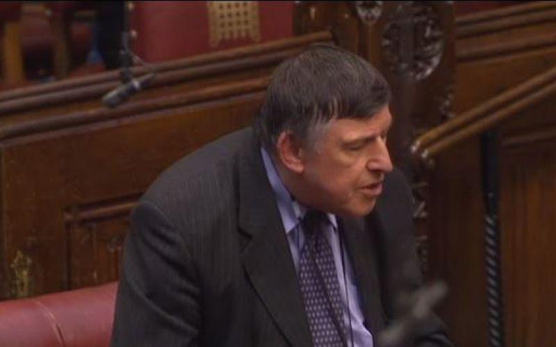 Lord Low speaking in the debate