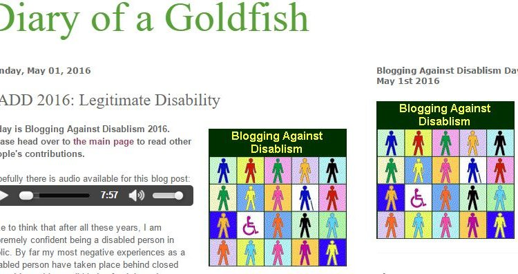 Language, love and research feature in 11th Blogging Against Disablism Day