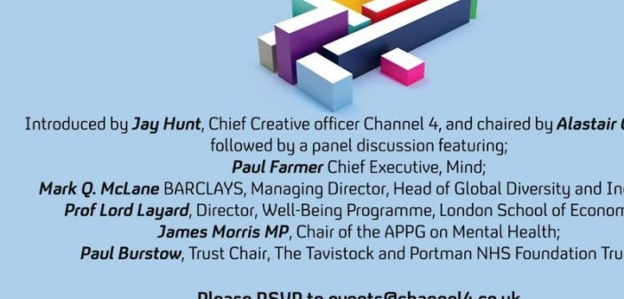 Advert for the Channel 4 event