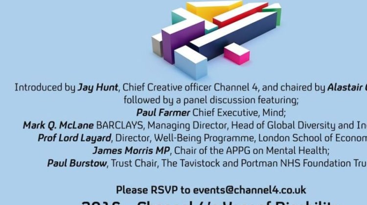 Channel 4 defends decision on mental health panel make-up