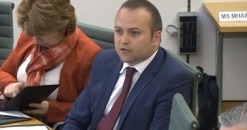 Neil Coyle speaking during the evidence session