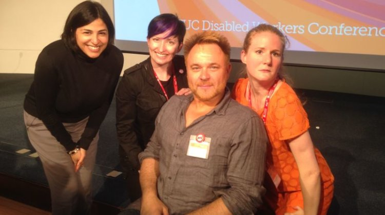 TUC Disabled Workers Conference: 'Stage and screen must do more on inclusive casting'