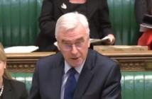 John McDonnell speaking in parliament