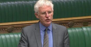 Norman Lamb speaking in parliament