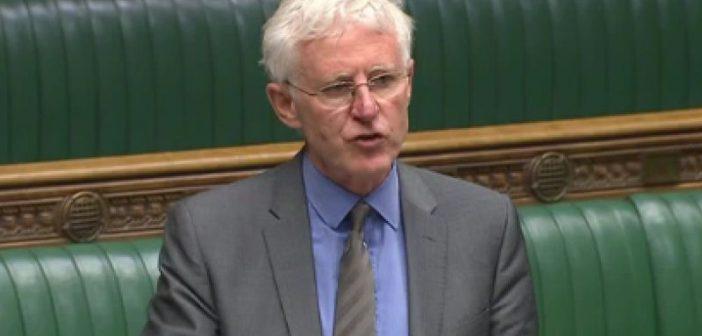 Norman Lamb speaking in parliament