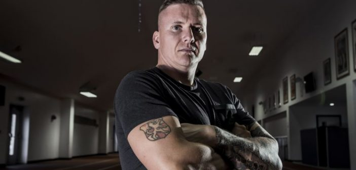 David Weir with his arms folded