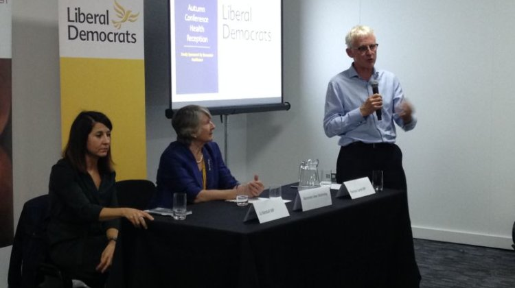 Lib Dem conference: Lamb calls for new care tax, but rejects free, needs-led service