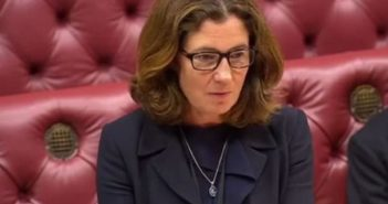 Baroness Williams speaking in the House of Lords