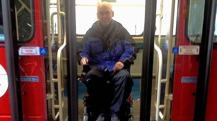 Wheelchair-user's anger over recurring blue button bus nightmare