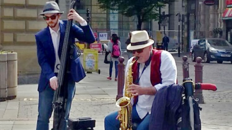 Disabled musician 'faces discrimination and abuse from other buskers'