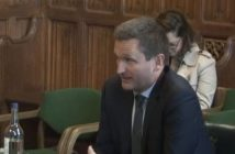 Lord Holmes speaking to the committee