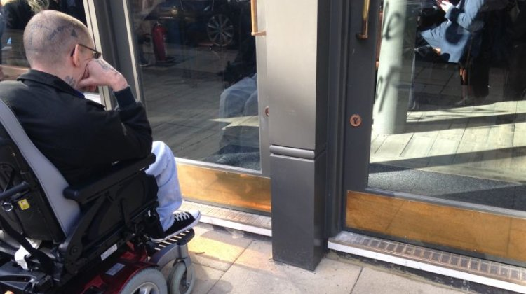 DPAC highlights 'shame' of access barriers, despite millions spent on renovation