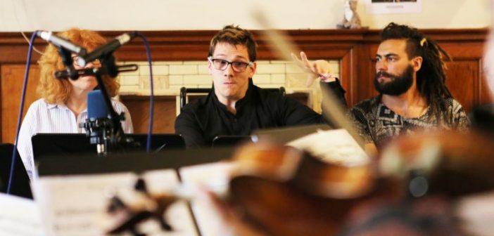 Change Maker James Rose conducting musicians