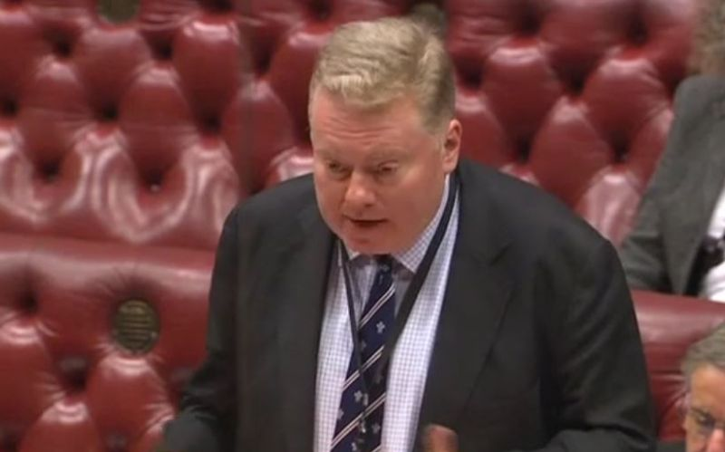 Lord Kennedy speaking in the House of Lords