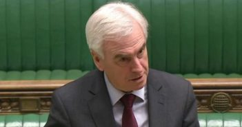 John McDonnell speaking in the Commons chamber