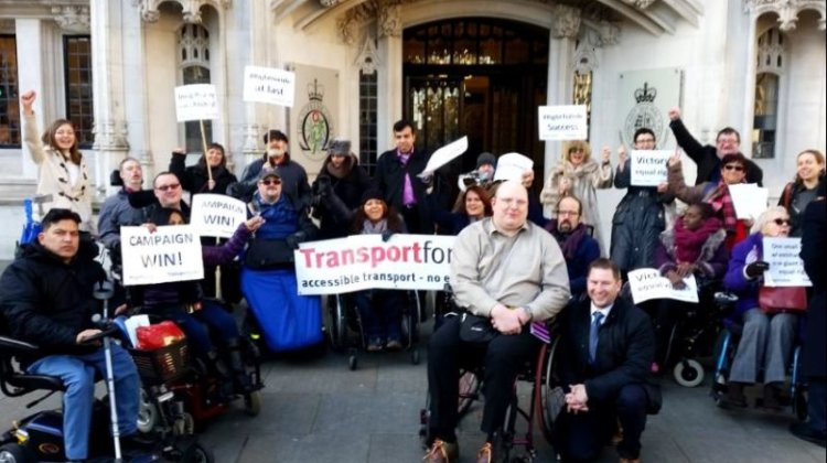 Ministers finally publish bus wheelchair space report… then announce more talks