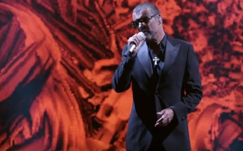 George Michael on stage