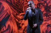 George Michael on stage