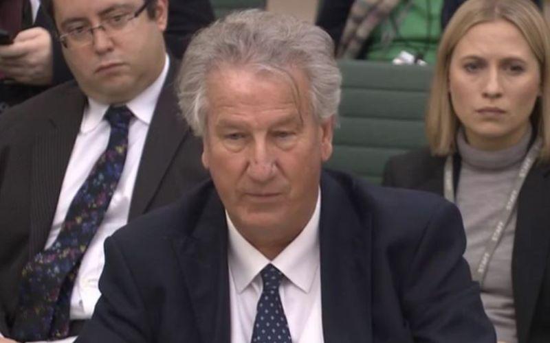 David Mowat speaking to the committee
