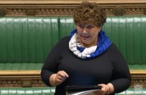 Marie Rimmer speaking in the House of Commons