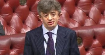 Lord Shinkwin speaking in the debate