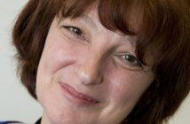 Diane Hullah head and shoulders, smiling