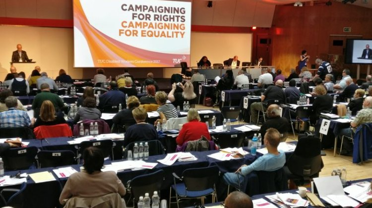TUC Disabled Workers' Conference: Arts and cultural organisations 'failing on jobs'