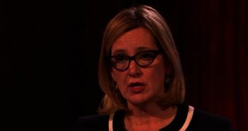 Amber Rudd head and shoulders