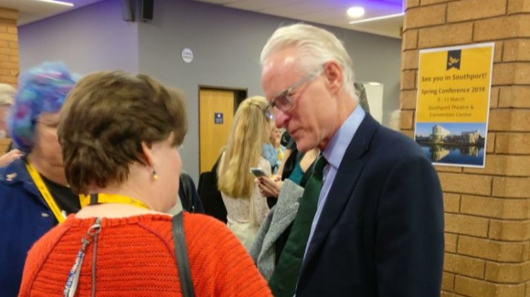 Lib Dem conference: Lamb calls for cross-party solution to social care crisis