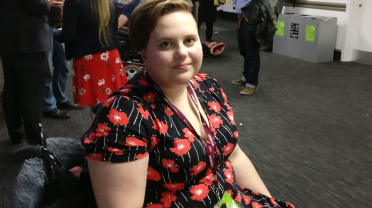 Labour conference: Student forced to crowdfund pain-free wheelchair