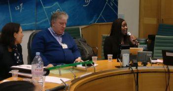 Marsha de Cordova at the report launch
