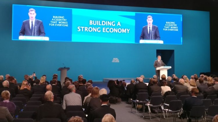 Tory conference: Gauke's universal credit silence on debt-ridden disabled people