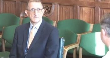 David Isaac giving evidence to the women and equalities committee